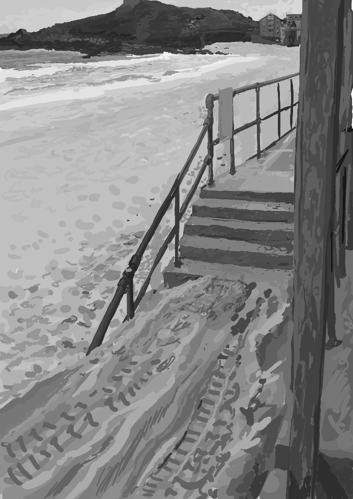 stairs-into-sand